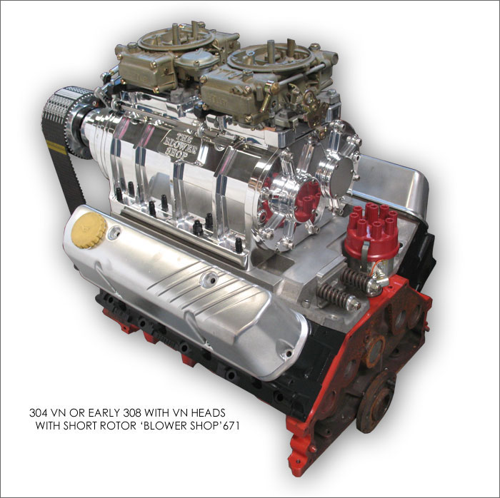 Blower Supercharger Kit For Ford 302: Ford 351C 6-71 Blower Kit The Blower Shop 6-71 Blower